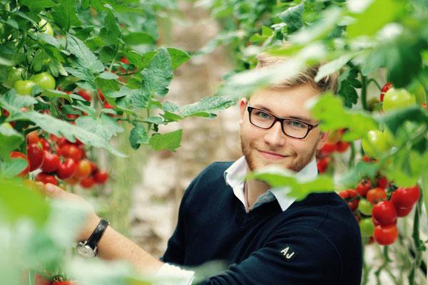 Max, groente- en fruitinkoper