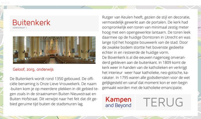 Kampen & Beyond, cultuur-historische wandelroutes