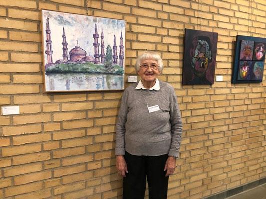 1. Ehrenmitglied des FFKK - Christa Ryborg