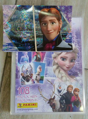 Frozen Photocards