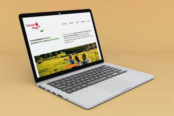 Site internet Arrosoir Rouge Octobre 2020