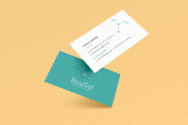 Carte de visite Association Bousol - Novembre 2020