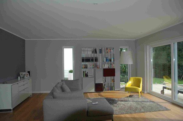 Einrichtungsplanung des Wohnzimmer