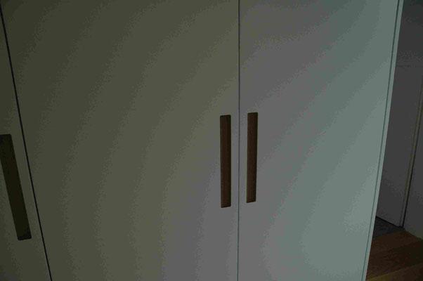 Planung der Einbauschränke im  Schrankzimmer