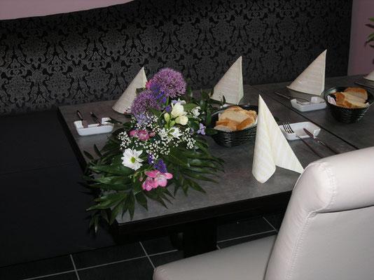 Tisch für Geburtstag