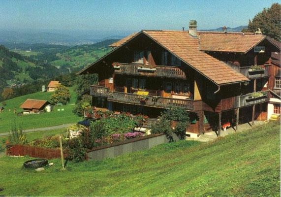 Haus Engelberg von oben