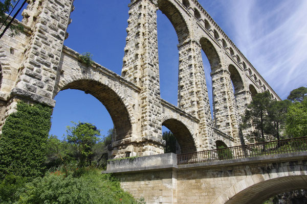 The Roquefavour aqueduct, part of the  Marseille canal