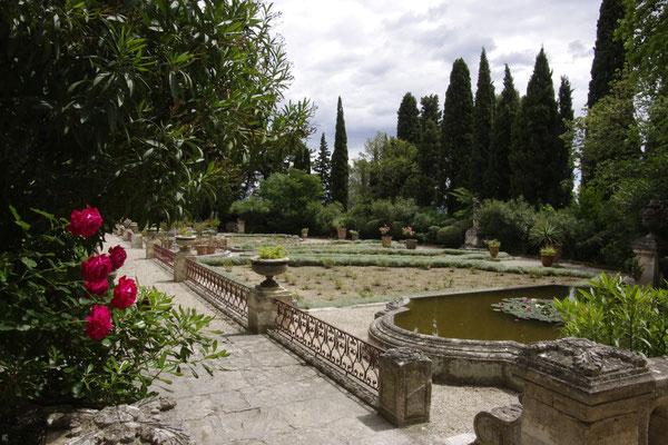 Die Gärten von der Saint-André Abtei