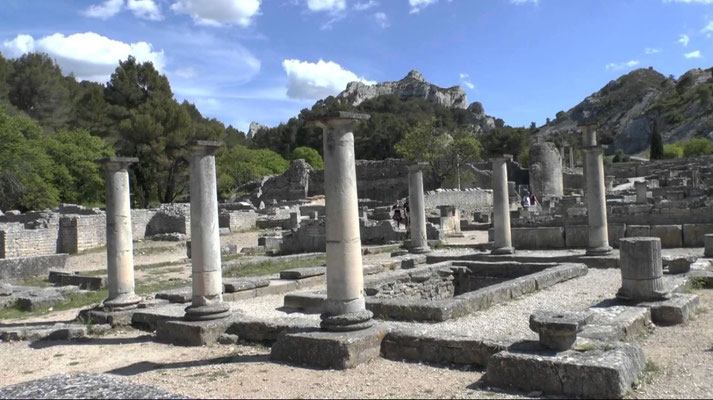 Glanum, the archaeological site