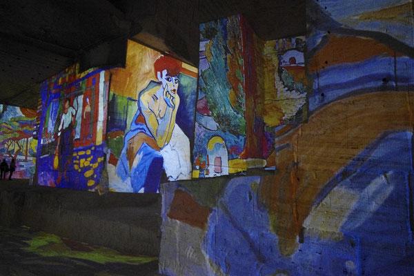 The impressionists in les carrières de lumière