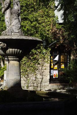 Saignon, der Brunnen