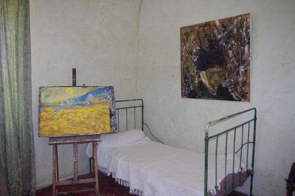 Rekonstruktion von Van Gogh Schlafzimmer