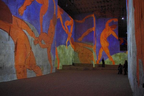 Les carrières de lumière in les baux de Provence