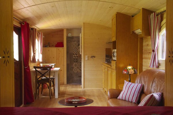 The gipsy caravan with air conditioning