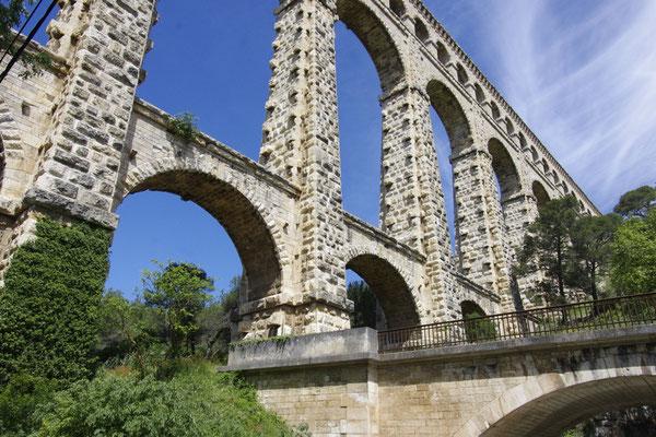 Das Roquefavour Aquädukt , ein Teil vom Marseille-Kanal