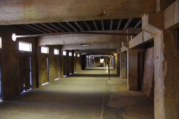 Das Milles Lager, in einem alten Ziegel Fabrik
