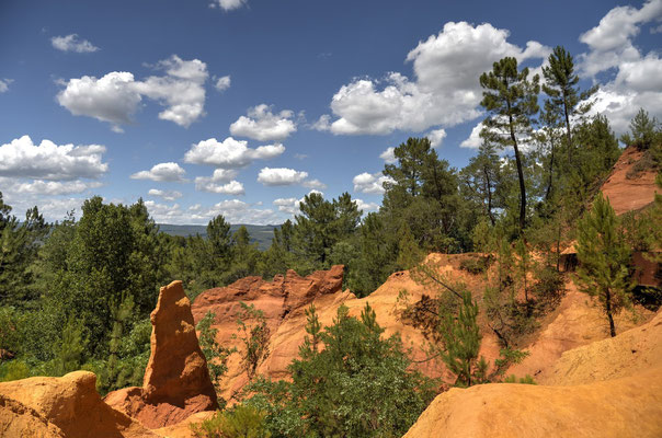 Roussillon and the colorful sands