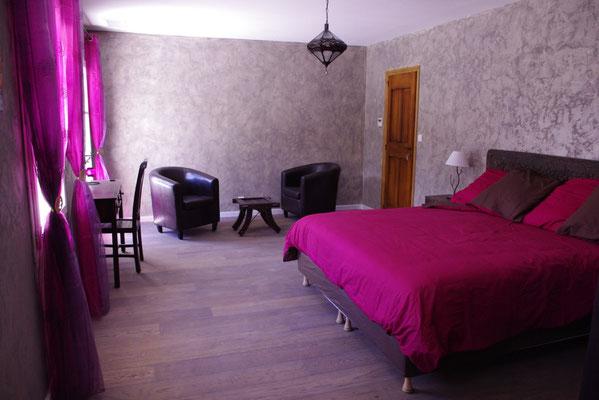 Madras Zimmer mit den Sessels und The Ecke