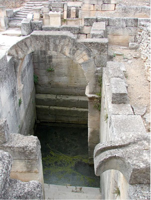 The spring in Glanum