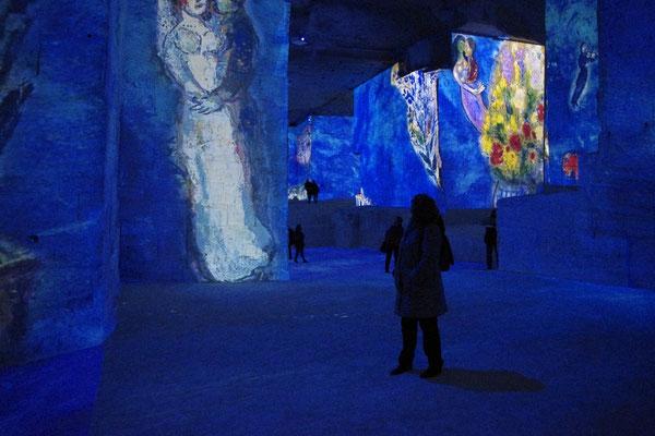 Chagall in den carrières de lumière