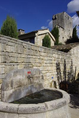 Montclus, der Bergfried