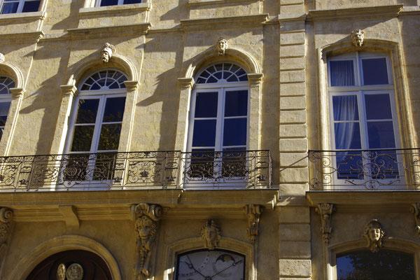 "Detail vom""'hôtel du Poët"" Patrizierhaus"