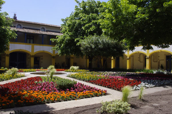 Arles, l'hotel dieu, bemahlt durch van Gogh