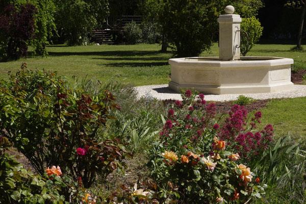 La fontaine du clos des Sorgues