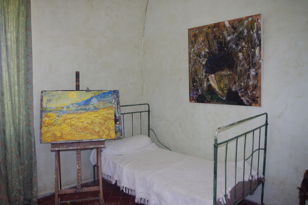 Reconstruction of Van Gogh's bedroom
