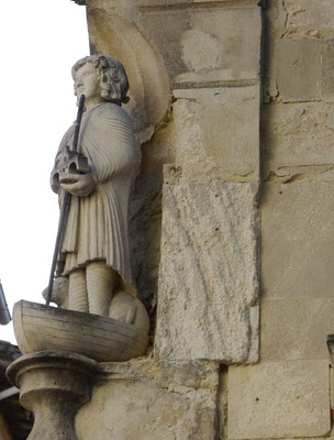 Saint Bénezet, builder of Avignon Bridge