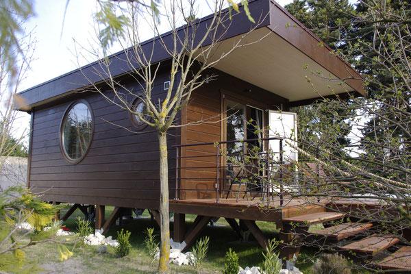 Die Holz Hütte