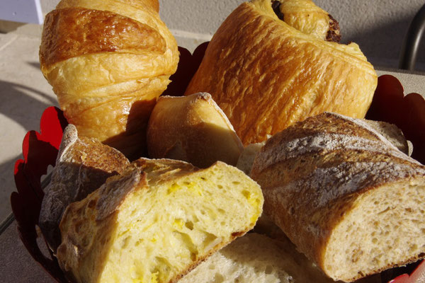 the good french bred and pastries