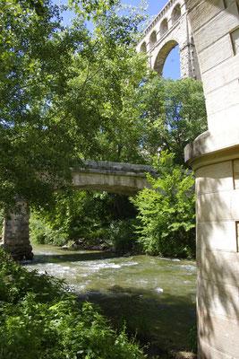 The aqueduct in Ventabren