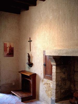 Cellule de moine chartreux à la Chartreuse