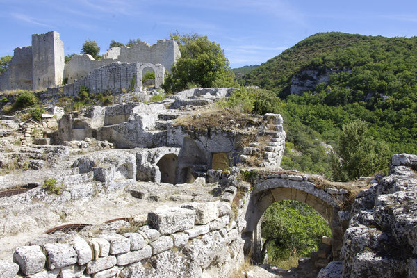 The Buoux fortress