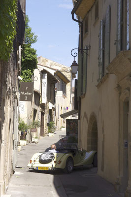 Lourmarin, a chic village