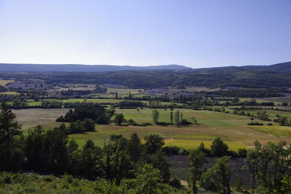 Die Landschaft in dem Sault Gebiet