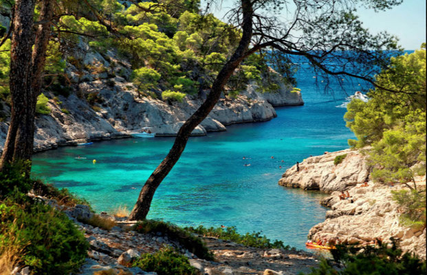 The Calanques in Cassis