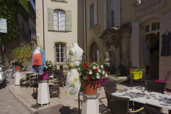 Geschäften und Kunstgalerien