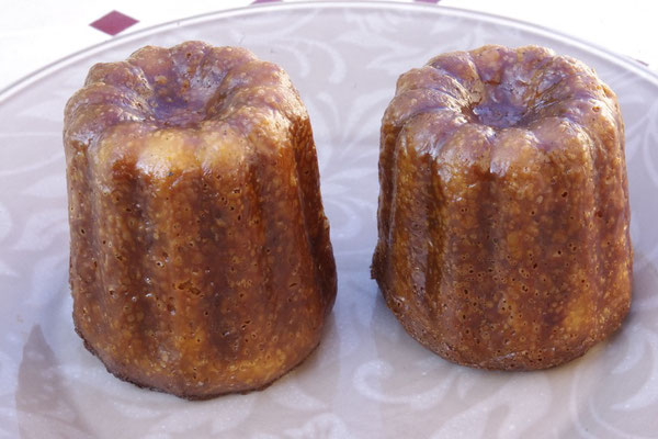 "the  home made"" cannelés"""