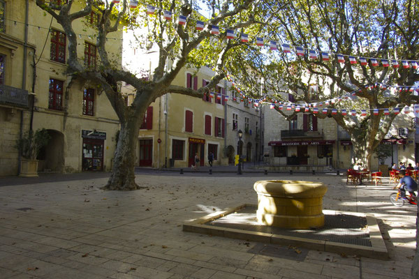 Beaucaire, one a the picturesque squares
