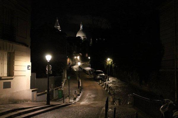 Paris Montmartre nuit