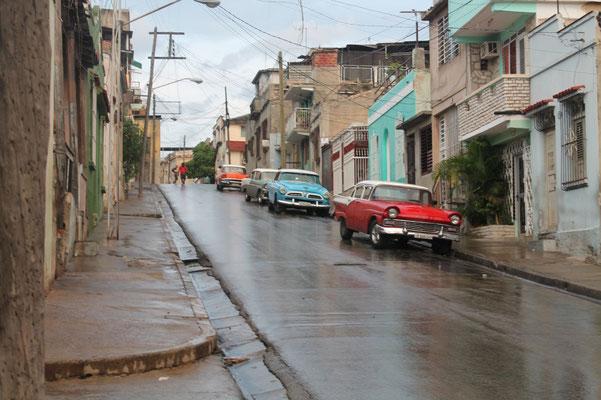 Cuba Santiago de Cuba voitures anciennes