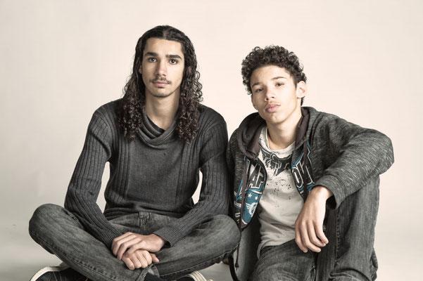 Portrait jeunes hommes