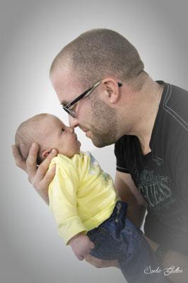 Bébé et son papa