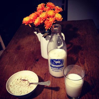 Breisgau Milch Flasche