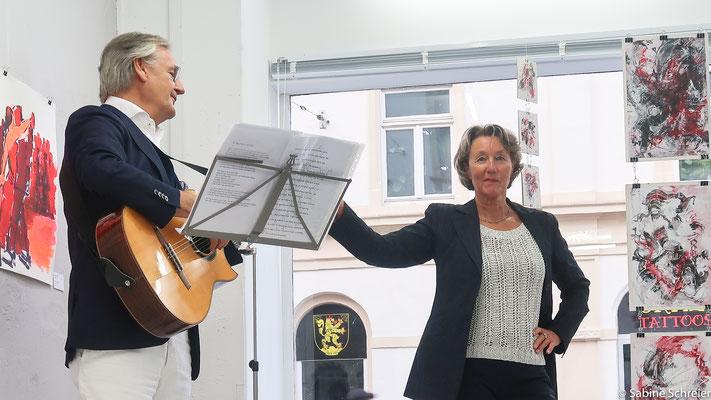 Rainer Holm-Hadulla und Christel Fahrig-Holm