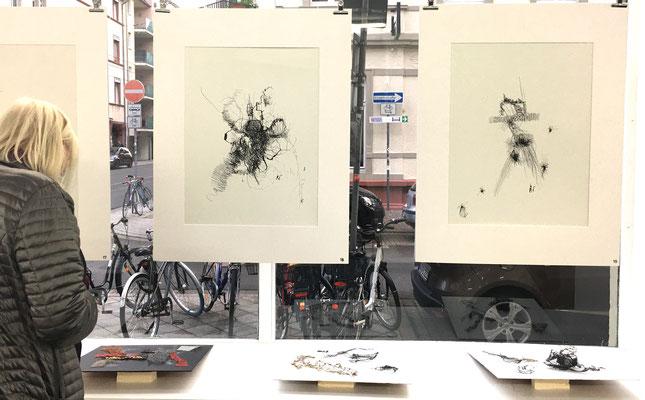 Raingard Tausch Assoziationen Ausstellung GEDOK Galerie