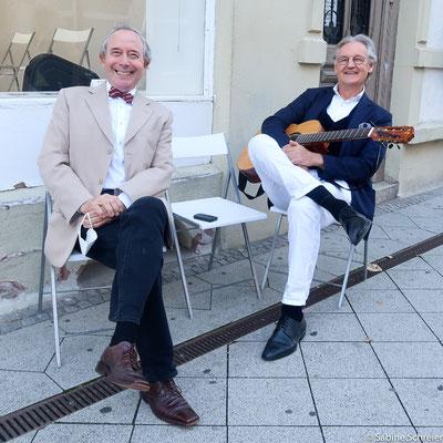 Enrique Fischer und Rainer Holm-Hadulla