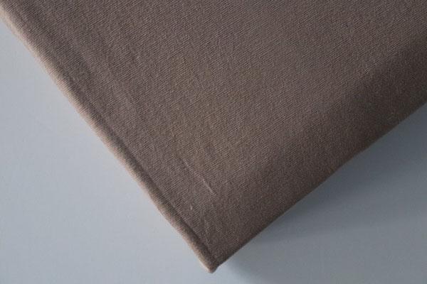 Spannbettlaken für Boxspringbetten, Farbe nougat  - Matratze und Topper können zusammen bezogen werden